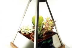 Lampe-pyramide