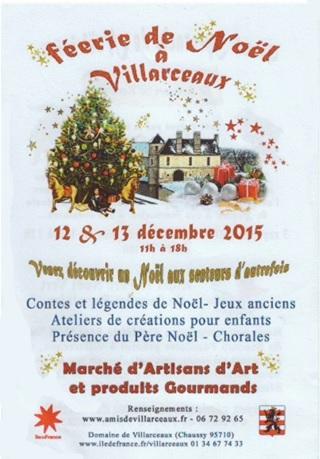 Affiche marché d'Art Villarceaux