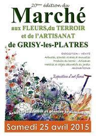 Marché aux fleurs Grisy-Les-Platres